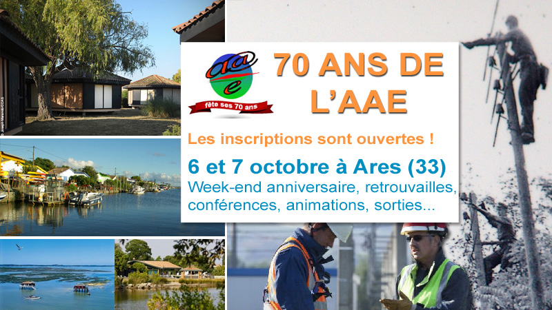 70 ans de l'Association Amicale Energies