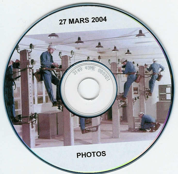 "Amicale Energies - Pack de 2 CD Rom : ""Gurcy - 27 mars 2004 - photos et film"""